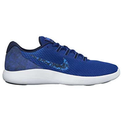 New Nike Men's LunarConverge Premium Running Shoe Blue/Obsidian 8.5