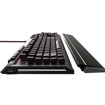 Patriot Memory Viper V770 Pro Mechanical Gaming Keyboard Full RGB/Dedicated Media Controls/Macro Enabled, Viper Black and Silver(PV770MRUMXGM) -US LAYOUT: ...