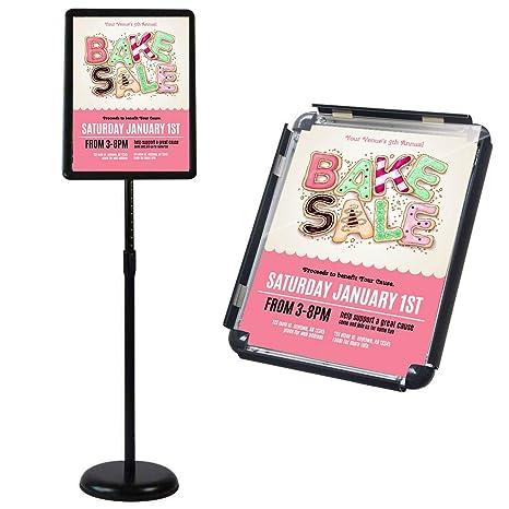 Amazon.com: Soporte ajustable para carteles y anuncios ...