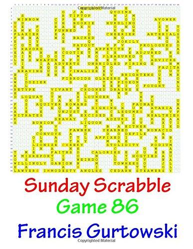 Sunday Scrabble Game 86 PDF