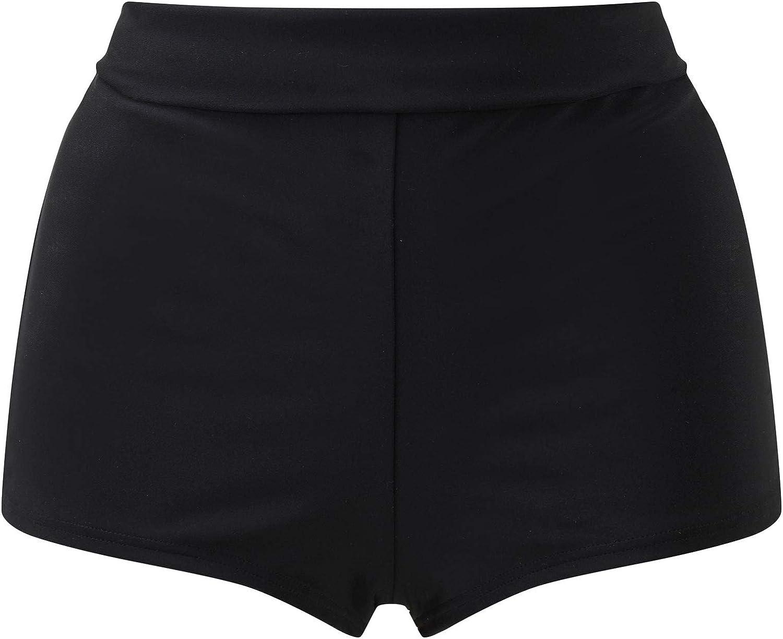 Cotton Traders Womens Roll Top Tummy Control Swim Shorts