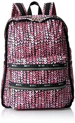 Essential Functional Backpack Painted Hearts PINK C, One Size