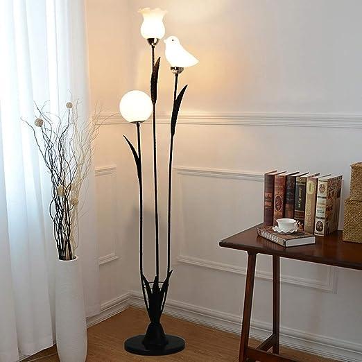 Lámpara De Pie Artística Lámparas De Pie Modernas Y Negras Luces ...