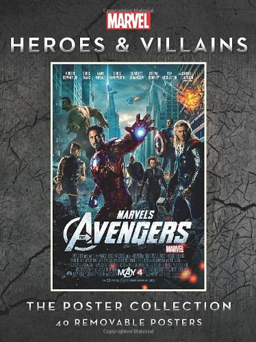 Marvel Heroes and Villains: The Poster Collection (Insights Poster Collections) Marvel Heroes And Villains