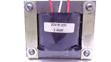 20v-0-20v 5amp 100% Copper Step Down Transformer