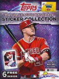 2017 Topps MLB Baseball Stickers HUGE 32 Page Collectors Album with 6 Bonus Stickers! Great Collectible to House all your Brand New 2017 Topps Baseball Stickers! WOWZZER!
