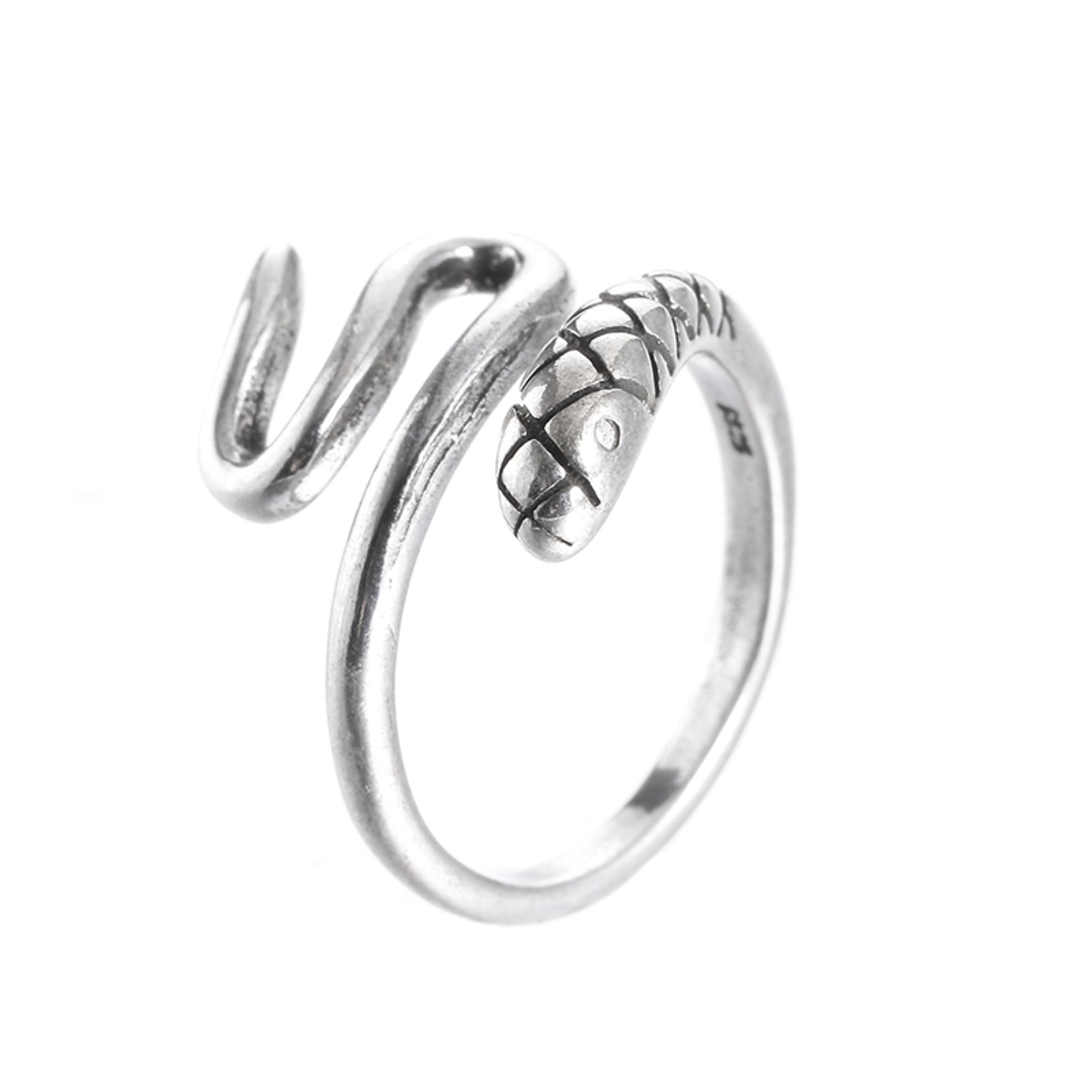ptk12 Promotion fashion retro style snake thai silver female 925 sterling silver ladies`finger