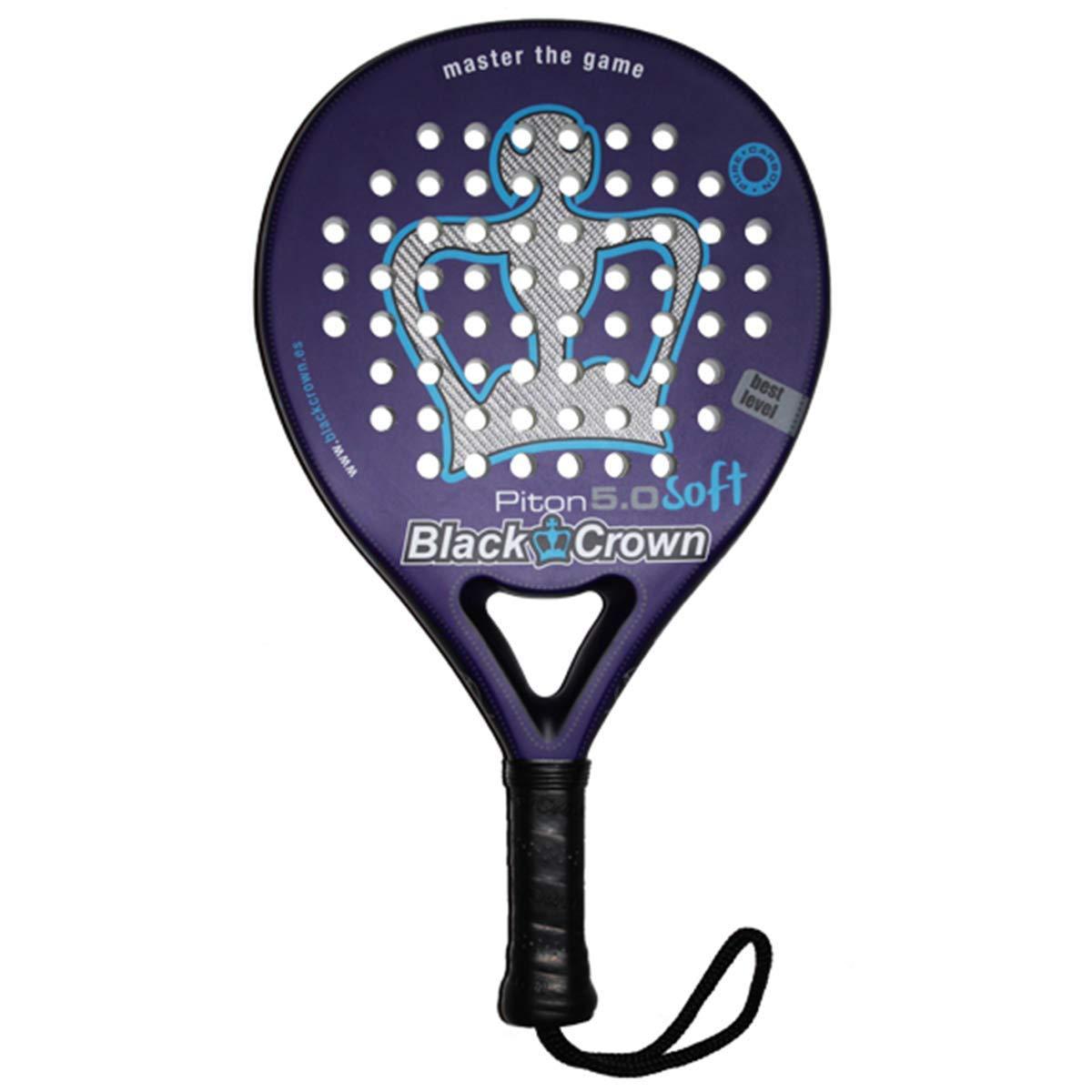 Pala de Pádel Piton 5.0 Black Crown: Amazon.es: Deportes y aire libre