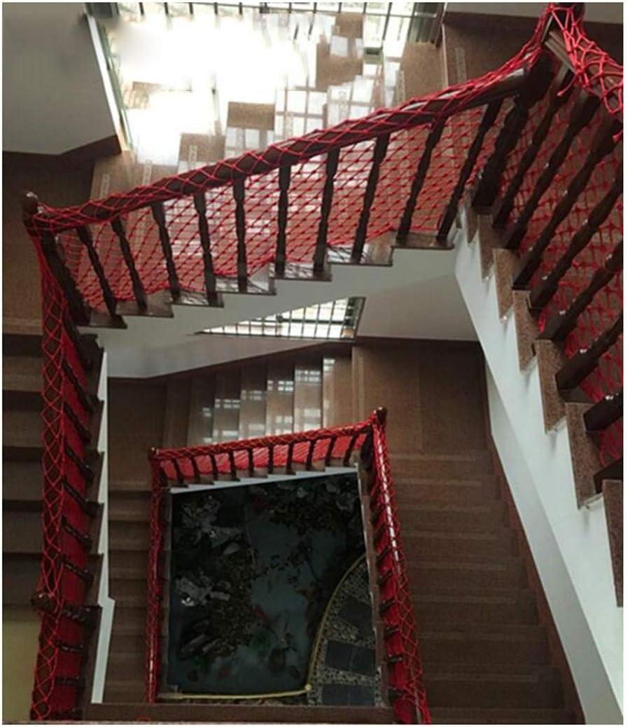 Red De Seguridad De Protección contra Caídas para Niños Red De Rejas De Malla Red De Carga Escalera Balcón Red De Protección Red De Mascotas Jardín Jardín De Infantes Restaurante Bar Decoración