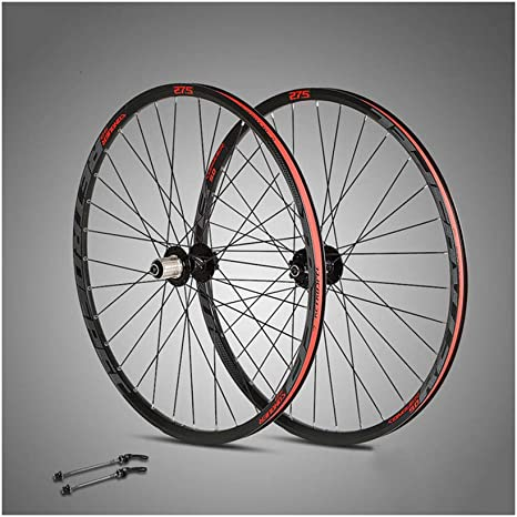 BIKERISK MTB de la Bicicleta de Aluminio de Doble Capa de Bicicletas Anillo de Cuatro Palin 32 Agujero de Bala radios 27.5