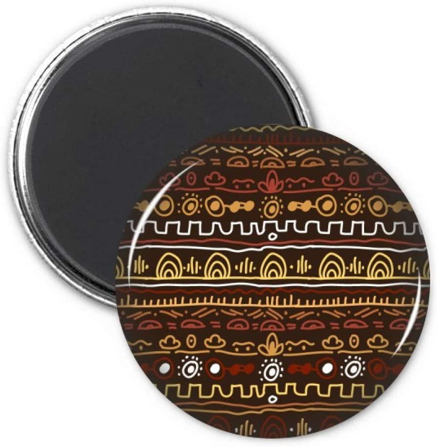Africa Primitive Aboriginal Style Tribal Refrigerator Magnet Sticker Decoration Badge Gift