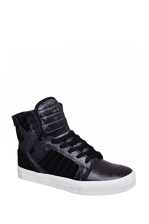 Supra Women's Skytop Sneaker B01IFMEXT8 6 B(M) US|Black Oil Slick