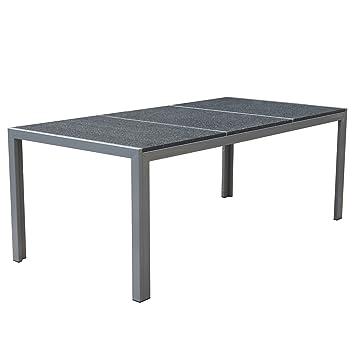 Amazon De Jalano Granit Tischplatte Gartentisch Gartenmobel