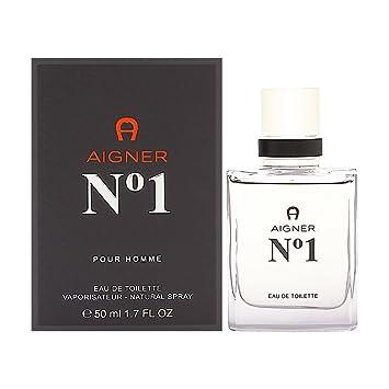 bestbewertetes Original heiß-verkaufendes spätestes beispiellos Amazon.com : Aigner No 1 Eau De Toilette Spray - 50ml/1.7oz ...