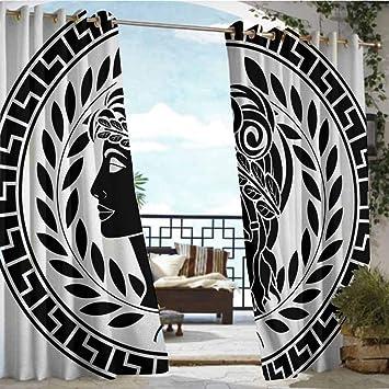 Amazon Com Patio Curtains Toga Party Roman Antique Beauty Muse