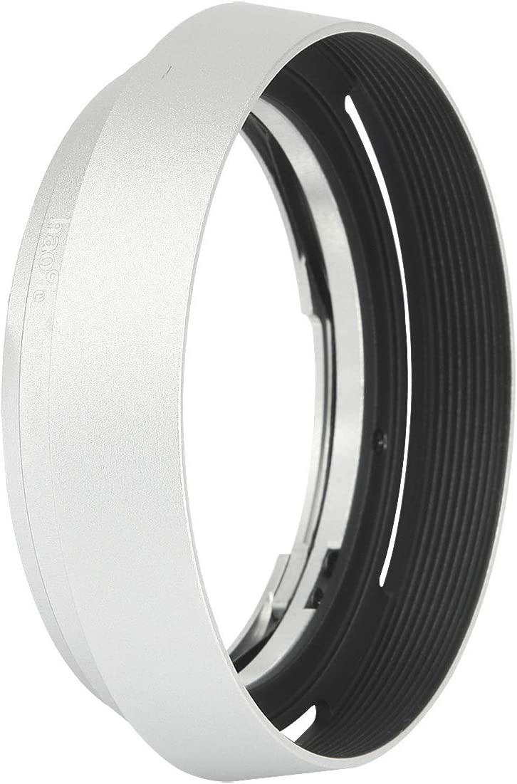 Haoge LH-ZM35 Bayonet Metal Round Lens Hood Shade Compatible with Carl Zeiss Distagon T 1.4//35 35mm f1.4 f//1.4 ZM Lens Black