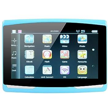 TOPmountain - Navegador para vehículos Navegador GPS Navegador para Autos Portátil Multifuncional Universal MP4 8GB FM Transmisión Mapa Álbum electrónico ...