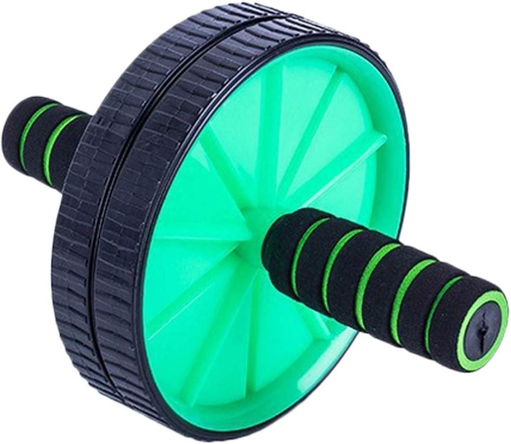 LXH-SH Resbalón no Aptitud Nueva Doublewheeled Actualizado AB Abdominal Rueda de Prensa Rodillos Crossfit Gimnasia Equipo del Ejercicio de Pesas Fitness, aparatos de Gimnasia