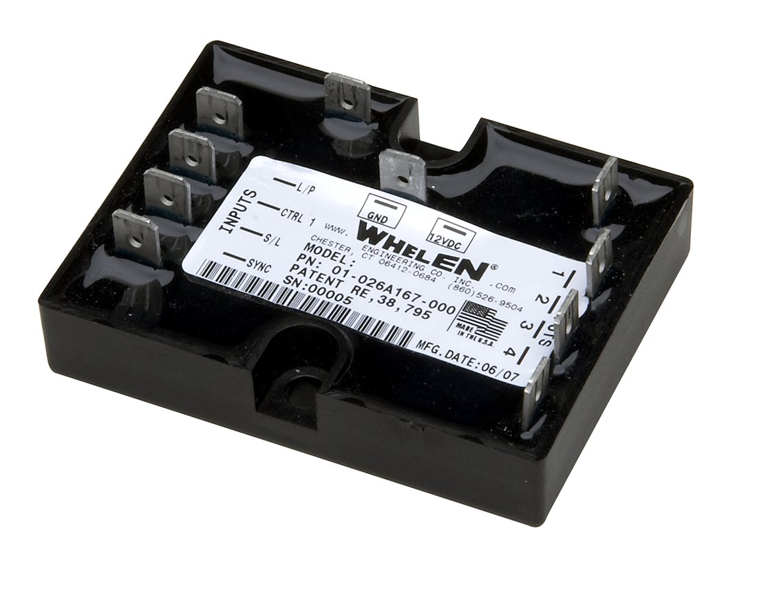 Amazon.com: Whelen Engineering Universal Four Channel LED Flasher:  Automotive