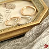 A.UN jewelry リング レディース エタニティリング 指輪 8号 10号 12号 シンプル シルバー 華奢 誕生日 クリスマス 記念日 プレゼント 0.41ct cz ダイヤ41~44石 リング レディース