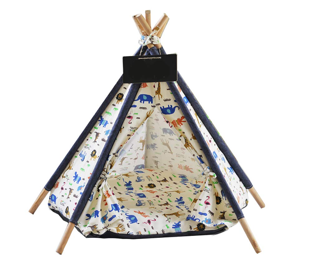Dog Bed Cat Bed Tent Lace Pet Kennel Pet Game House Dog Play Tent Cat Dog Bed Removable And Washable
