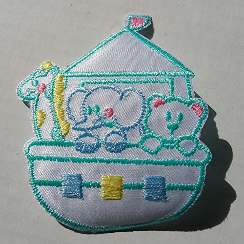 [Baby Patch Noah's Ark Animals Elephant Bear Giraffe Blue Yellow Green Iron On Applique Embroidered Cute Sew Pcs Badge Patches Craft Girl Mix Appliques 5 4 Infant Diy Garment Sewing 2 New Jacket Patches Emblem Upick Nation Trim X3 Standard Logo Motif Appliques Cloth Embroidery Rose Trim Embellished Embellishments Embroider Embellish Style Colorful Added] (Noahs Ark Baby Bear Costume)