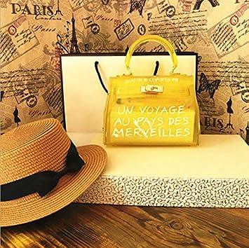 f976619fc30 OneMoreT Sac à main à bandoulière pour femme Transparent Alphabet S jaune   Amazon.fr  Instruments de musique