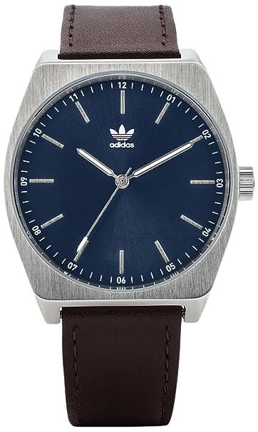 Adidas by Nixon Reloj Analogico para Hombre de Cuarzo con Correa en Cuero Z05-2920-00: Amazon.es: Relojes