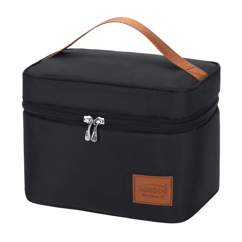 WoWer Lunchbox Isoliertasche K/ühltasche Provianttasche Reisekit K/ühltasche Eistasche Picknicktasche Lunch Tasche Klappbar Faltbar