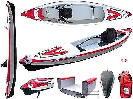 BIC Sport - Canoa hinchable YakkAir Full HP 1 One 101497 + ...