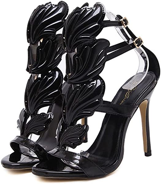 94f1a3e266177 Sandals for Women Girls Ladies 2018 Spring Summer New UK Office Sexy Home  Party Club Black Khaki Gold Dancer Pumps Leaf Flame High Heel Shoes Sexy  Peep Toe ...