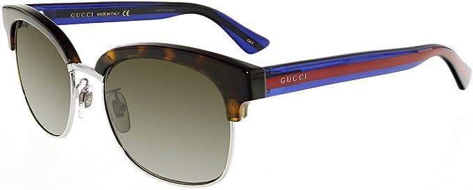 Gucci GG0056S 004, Gafas de sol para Hombre, Marrón (Avana ...