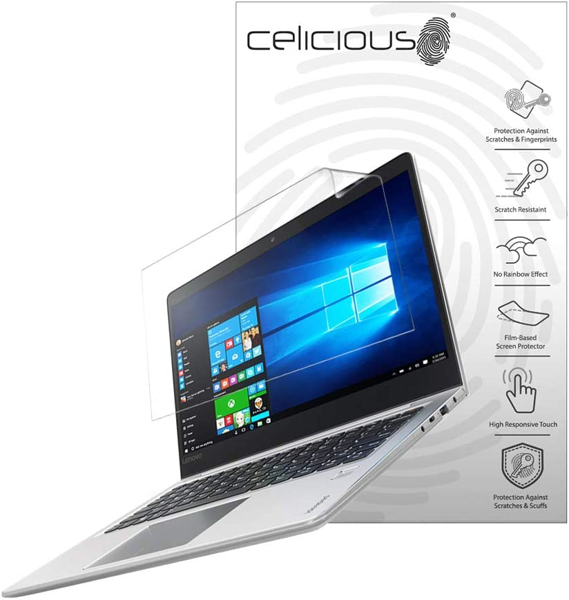 Celicious Vivid Plus Mild Anti-Glare Screen Protector Film Compatible with Lenovo IdeaPad 710s Plus 13 (Touch) [Pack of 2]