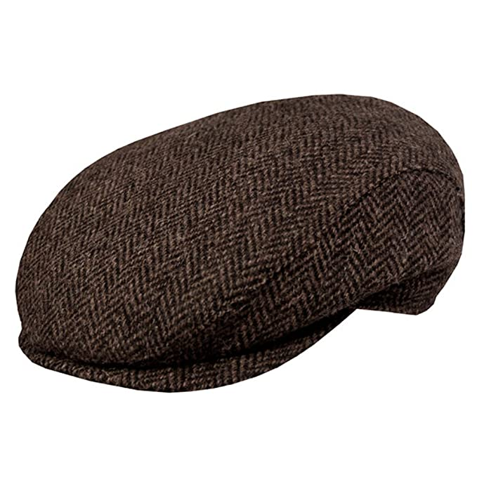 Wigens Noel Harris Tweed Slim Ivy Cap at Amazon Men s Clothing store  1e808ade2dd1