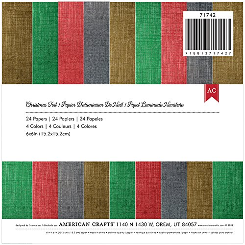 american-crafts-christmas-foil-paper-pad-6-by-6-inch-24-pages