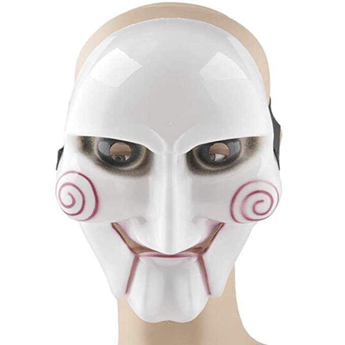 Plastic Saw Mask Halloween Mask Decoration Fancy Dress Masquerade Party Mask by Elisona: Amazon.es: Juguetes y juegos