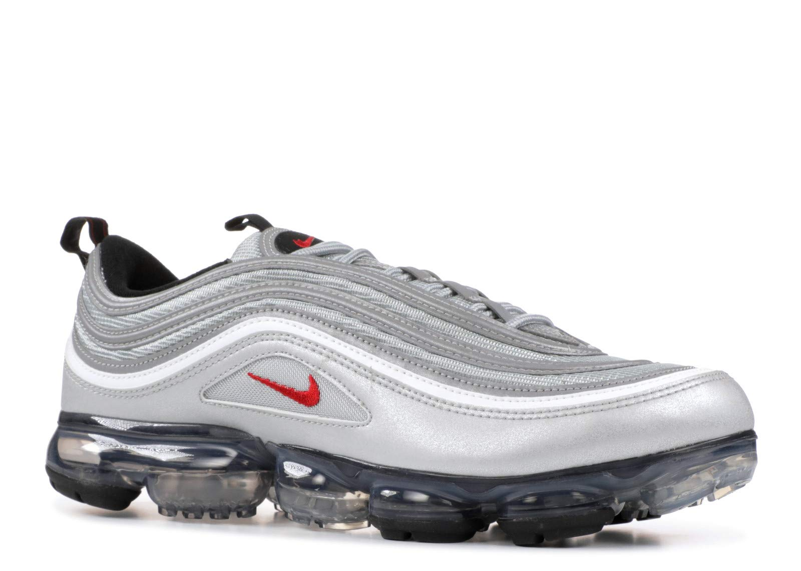 promo code a98cf fbbd2 Nike Air Vapormax ´97 Silver Bullet AJ7291-002 Metallic Silver/White Men's  Shoes (11)