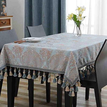 Mantel rectangular tela sala de estar hogar mesa de comedor mantel ...
