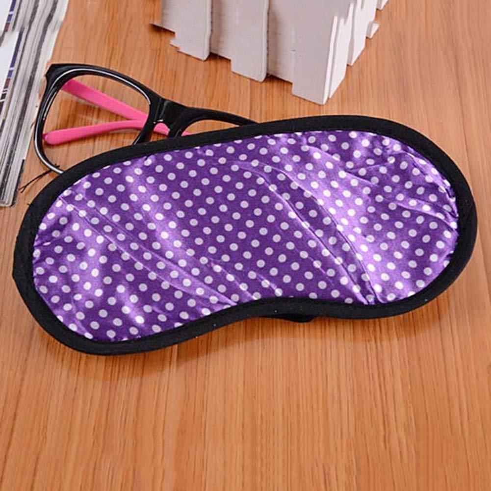 Shyymaoyi Masque de sommeil confortable en tissu doux Unisexe