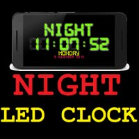 Multi Color Night LED Clock