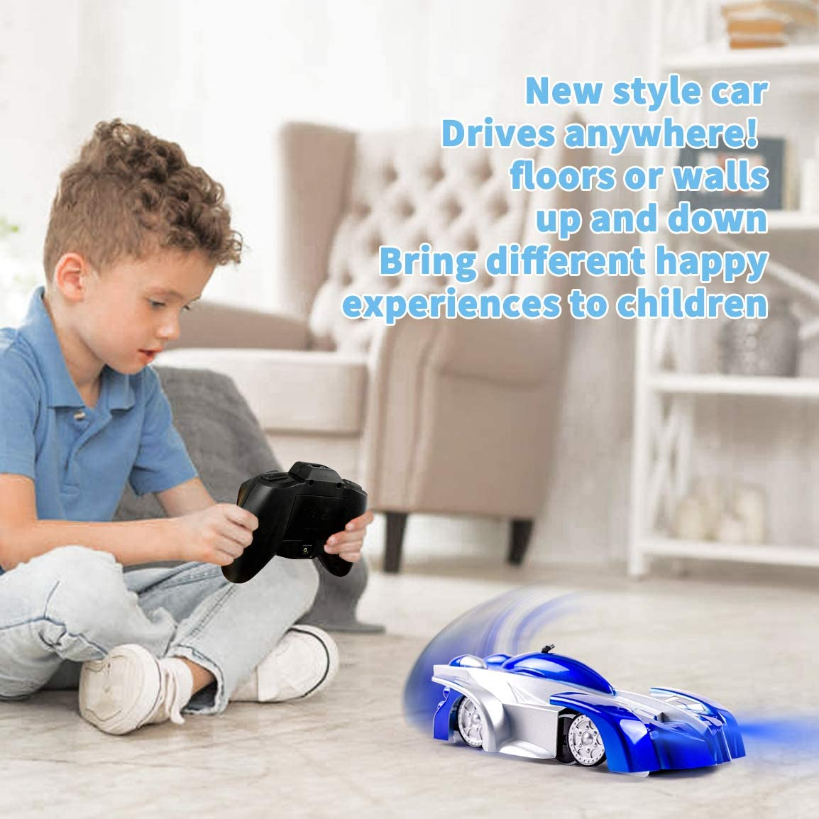 Highttoy Children Wall Climbing Remote Control Car for Kids-Hot Gift