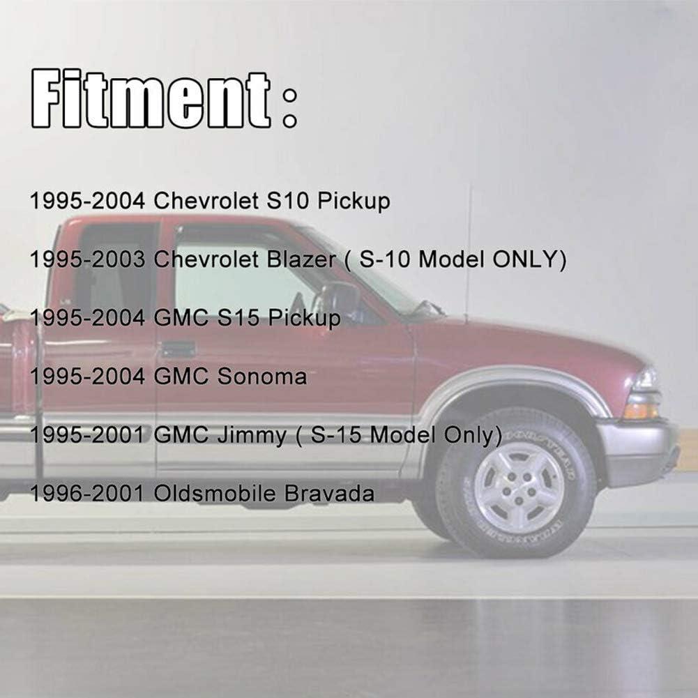 Luckmart Steering Rack Boot Replacement Compatible for Polaris Rangers 400 500 570 700 800 900 5412012 5412013 Black 1 Pair