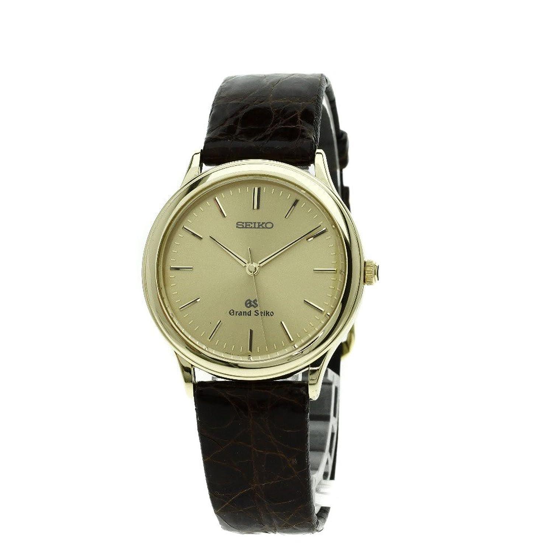 [セイコー]9581-7000 グランドセイコー 腕時計 K18イエローゴールド/アリゲーター メンズ (中古) B078YHWK6L