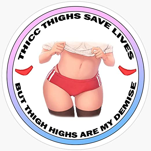Amazon Com Deangelo Thicc Thighs Save Lives Stickers 3 Pcs Pack Kitchen Dining News & updates help & support advertising black lives matter. deangelo thicc thighs save lives stickers 3 pcs pack