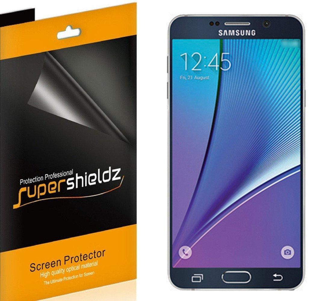 Film Protector para Samsung Note 5 [6un] SUPERSHIELDZ (1189A