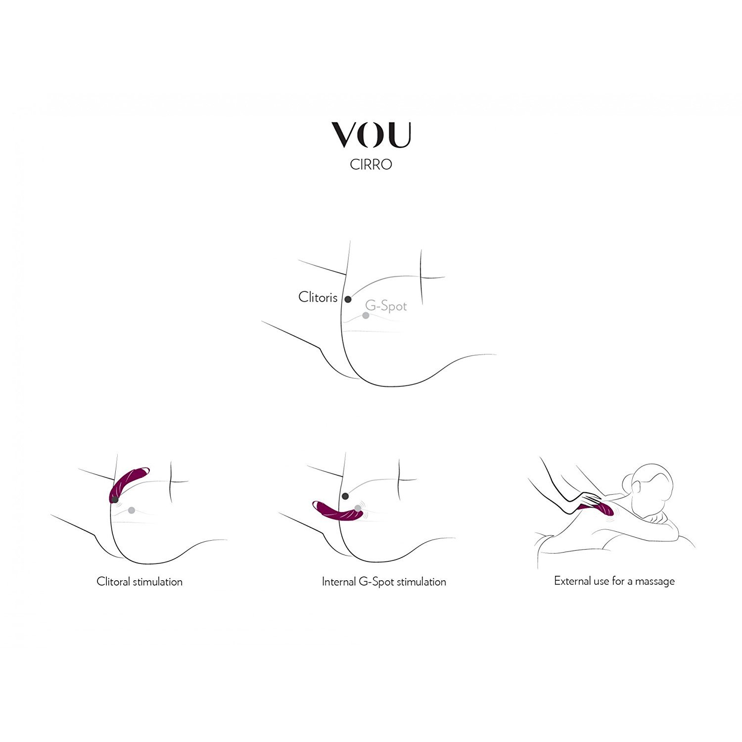 G spot vibrator with 7 modes luxury sex toy cirro vou amazon g spot vibrator with 7 modes luxury sex toy cirro vou amazon health personal care pooptronica