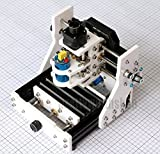 Zowaysoon 500MW Mini CNC Laser Milling Engraving Machine USB DIY 3 Axis Carving Desktop Mill for PCB Acrylic Wood Plastic GRBL/Benbox