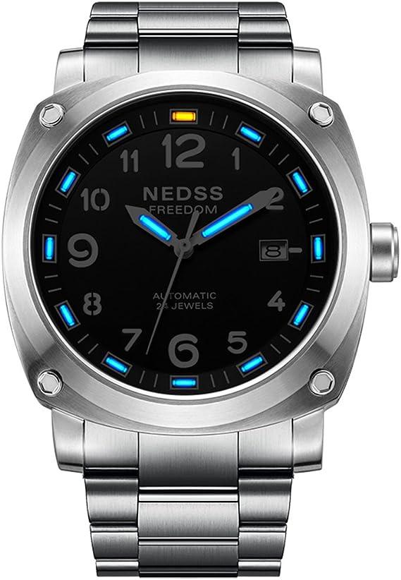 Men Watches NEDSS Top Brand Luxury Steel Watch Waterproof