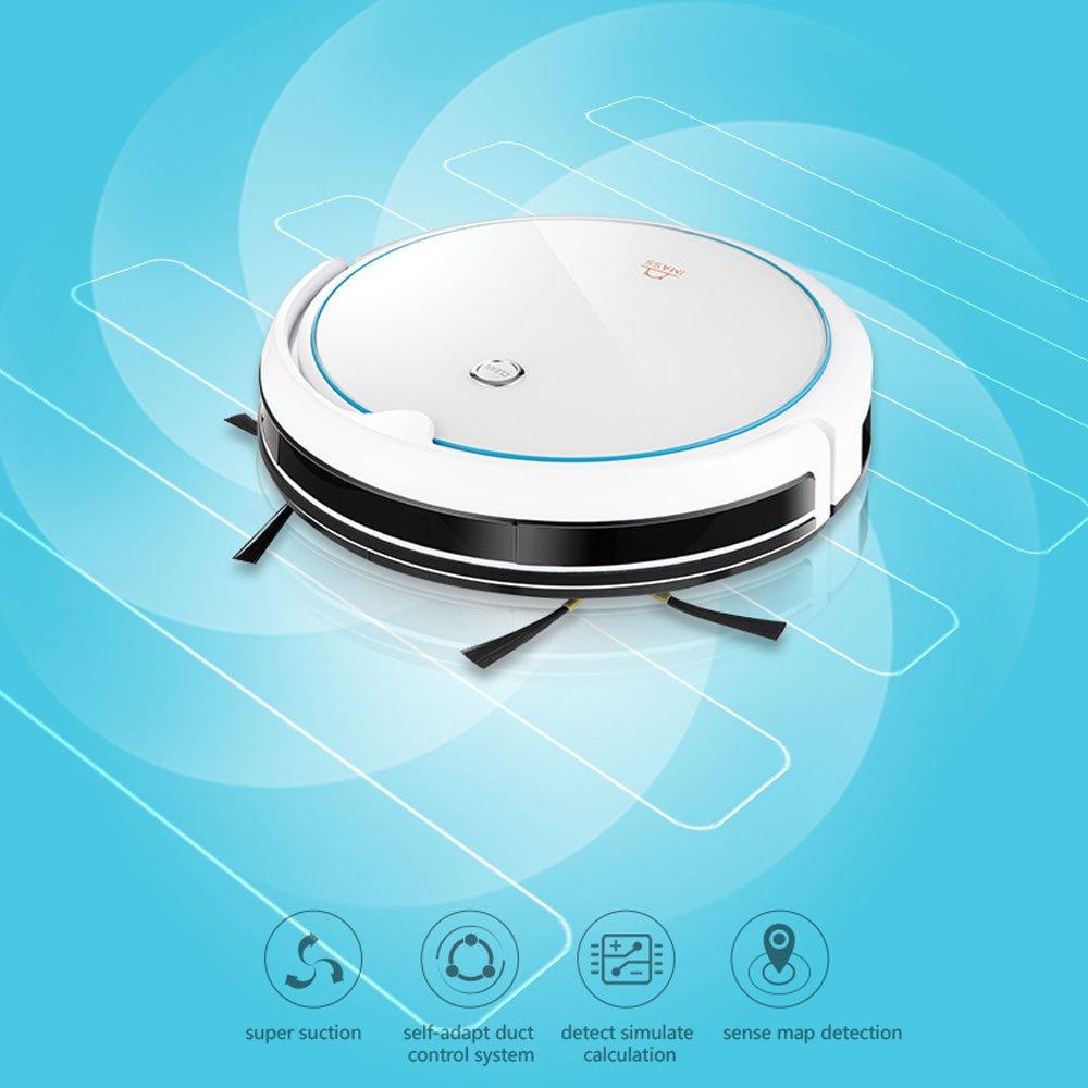 decdeal imass A3 Aspiradora robot limpiacristales, 6 Lavado, 1200 PA ventosa Impresión, incluye depósito y Reservorio de agua: Amazon.es: Hogar