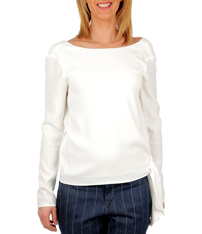 Polo Ralph Lauren T-Shirt Morbida con Scollo allIndietro Donna ...